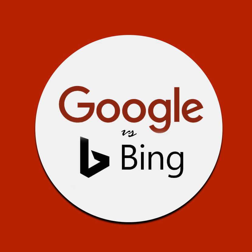 google versus bing